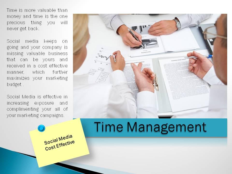 Time Management of Social Media