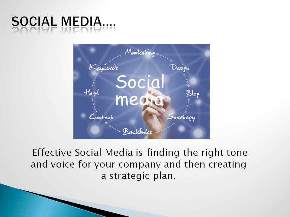 Social Media is a voice and tone for your company